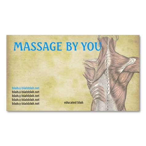 therapy business card templates 174 best works images on