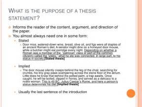What Does Thesis Statement What A Thesis Statement Is And What It Isn T