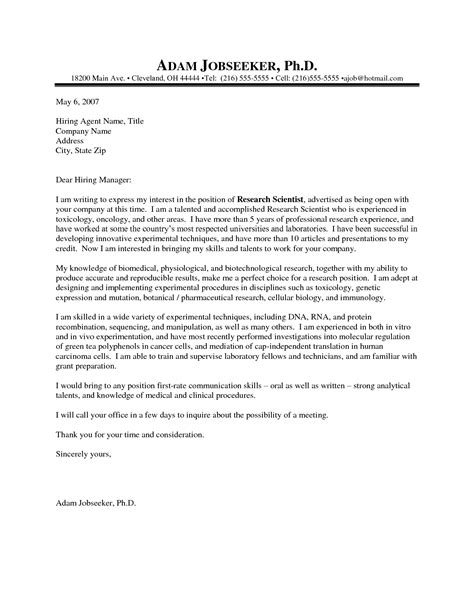 gallery of research cover letters