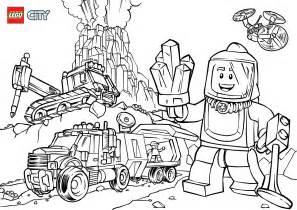 Volcano Explorers Colouring Page Lego 174 City Activities Play Coloring Games L L L L L L L L L L L
