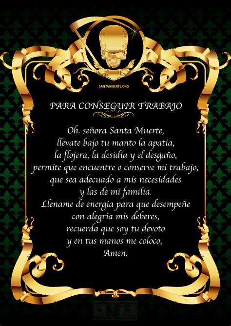 oracion de la santa muerte oracion ala santa muerte tattoo design bild
