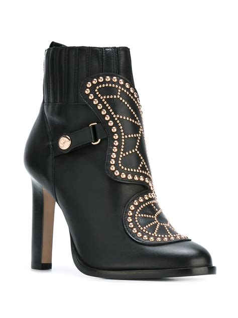 webster boots webster butterfly ankle boots in black lyst