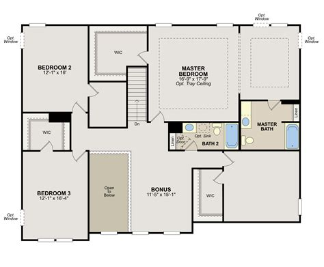ryland home floor plans mibhouse