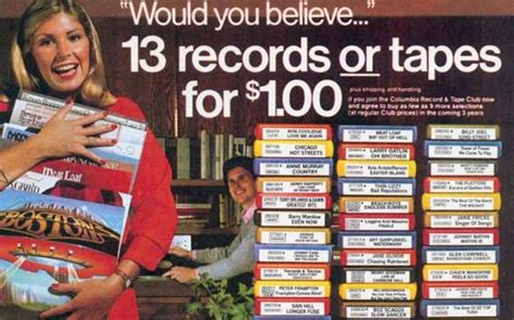 columbia house music yourememberthat com taking you back in time