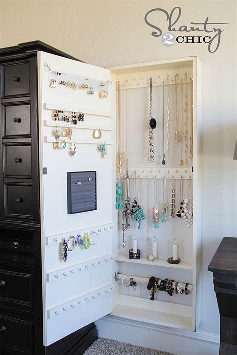 diy armoire closet 11 nifty diy ways to organize your jewelry