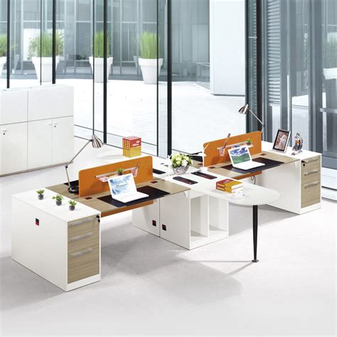 2 person modern office furniture specification 3 drawer