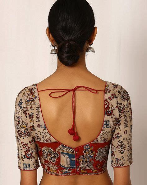 Blouse Cemara Puff Murah simple blouse design for cotton saree blouses galleries