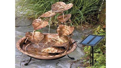 small backyard fountains small garden water fountains youtube