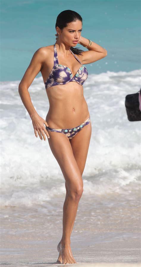 adriana lima  adriana lima shows   bikini body zimbio