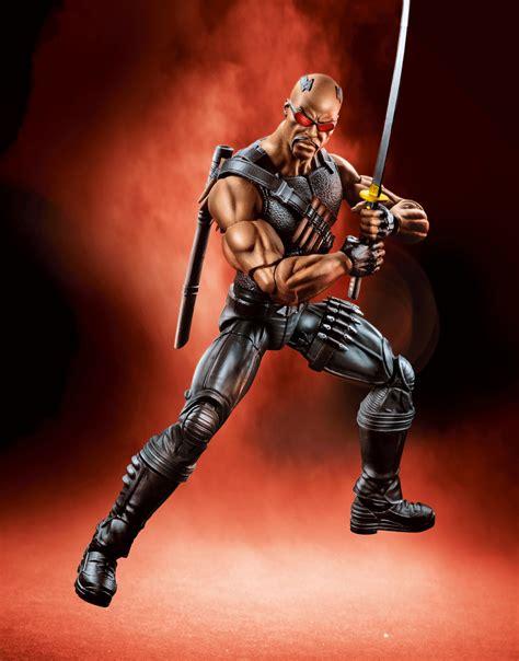 Blade Marvel Legends Hasbro Figure marvel legends netflix series hi res photos blade thing marvel news