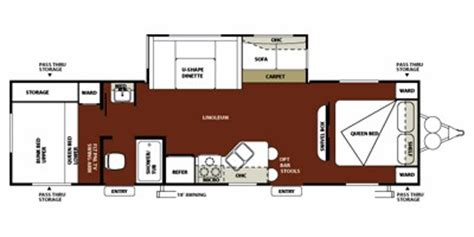 wildwood cers floor plans 2012 wildwood by forest river m 30bh2q specs and standard equipment nadaguides
