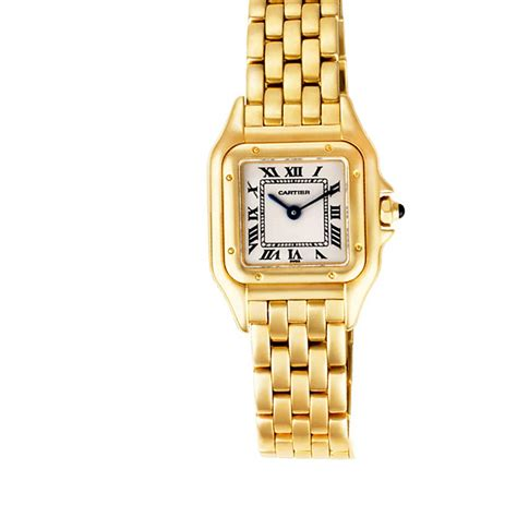 cartier panthere w25022b9 gold world s best