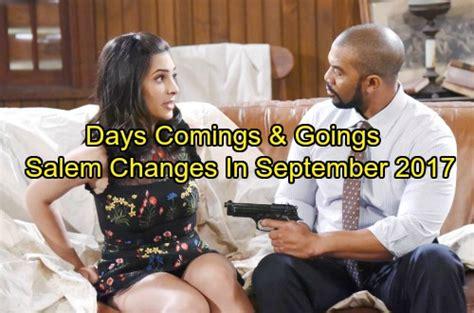 days of our lives spoilers comings and goings 2015 days of our lives spoilers salem s landscape changes