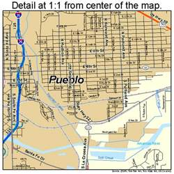 pueblo colorado usa map pueblo colorado map 0862000