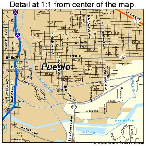 maps pueblo colorado pueblo colorado map 0862000