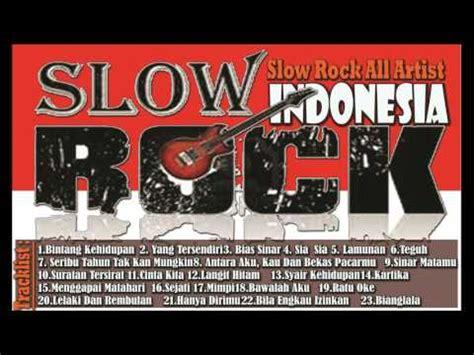 download kumpulan lagu slow rock terbaik tahun 90an the best of slow rock indonesia 28 lagu lagu para rocker