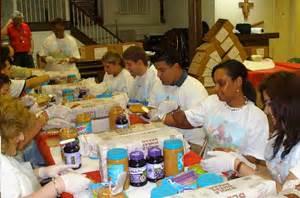 st francis food pantries shelters metlife pb j
