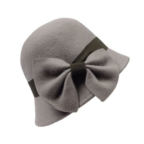 Bow Cloche Hat cloche with tilted bow cloche hat hats
