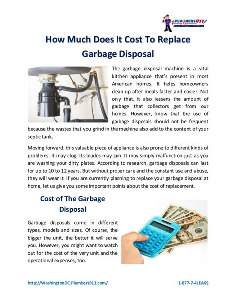 how much does it cost to replace a front door how much does it cost to replace garbage disposal
