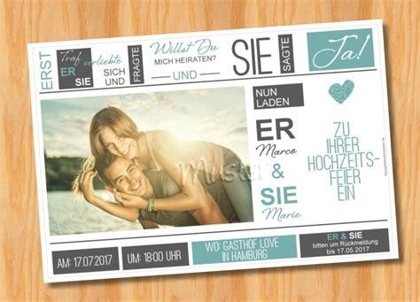 Originelle Einladungskarten Hochzeit by Einladungskarten Hochzeit