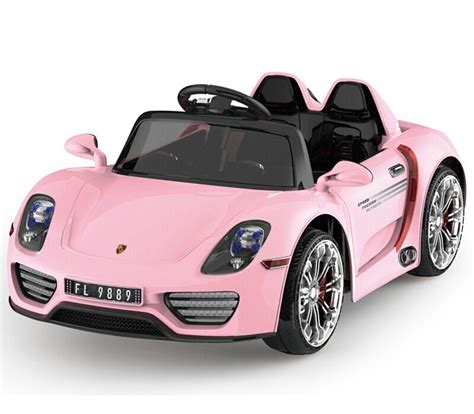 Mini Laptop 4 Bahasa Cars lovely pink color ride on car for 12volt