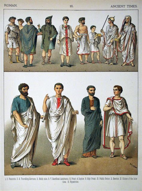 ancient greek costume history pictures showing how to recreate a file ancient times roman 016 costumes of all nations