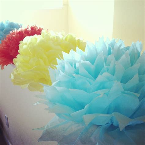 Handmade Flowers From Tissue Paper - tutorial how to make diy tissue paper flowers