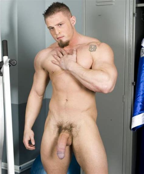 Naked Muscle Man Big Dick