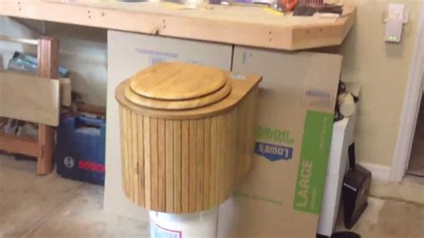 Diy Composting Toilet Youtube by Composting Toilet The Cabin Can Youtube