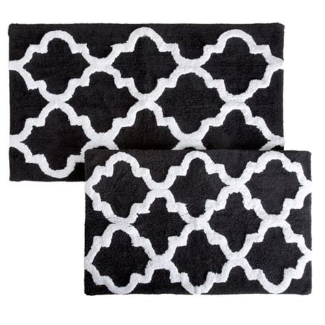 Black And White Bathroom Rug 20 Gorgeous Black And White Bathroom Rugs 70