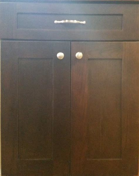 Espresso Cabinet Doors Shaker Style Cabinets Espresso Roselawnlutheran