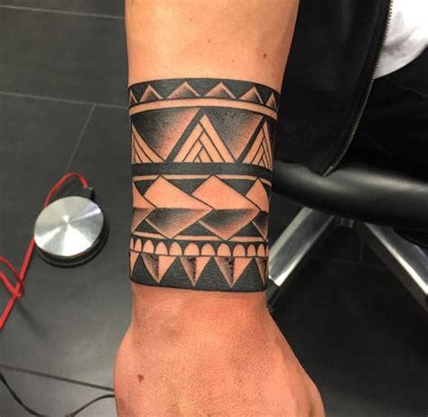 armband tattoo cool tribal armband tattoo for men
