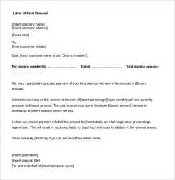 demand letter template demand letter template 10 free word pdf documents