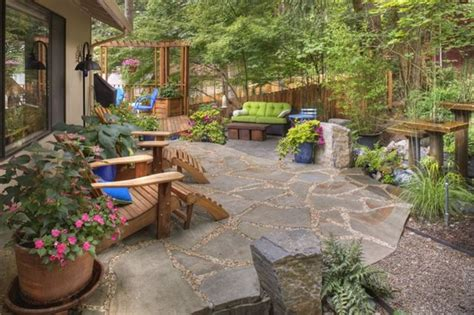 rustic backyard ideas garden and picture design backyard pool landscaping ideas