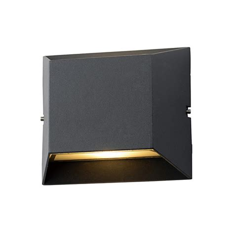 ce saa decorative surface mounted wall wash square light