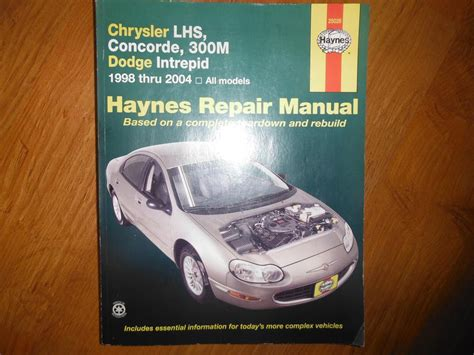 old car repair manuals 2004 chrysler 300m electronic throttle control chrysler lhs concorde 300m intrepid 1988 2004 service manual central nanaimo nanaimo mobile
