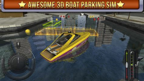 3d boat parking simulator game real sailing driving test - 3d Boat Parking Simulator Game