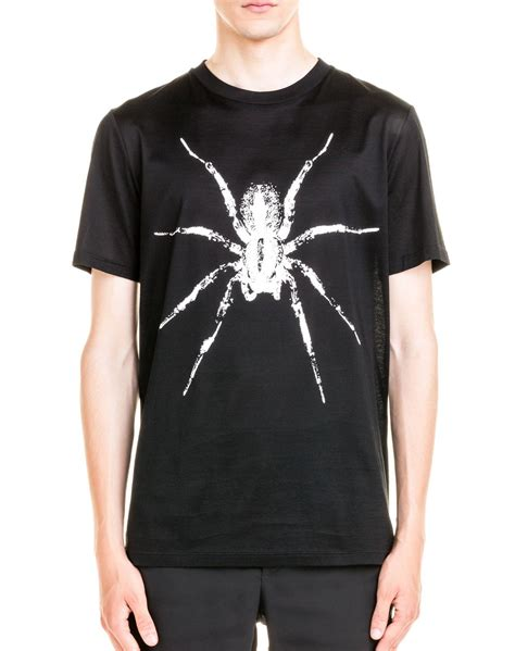 Printed Spider Cotton T Shirt By Lanvin T Shirts Ikrix by Lanvin Spider Print Cotton Jersey T Shirt In Black For Save 26 Lyst