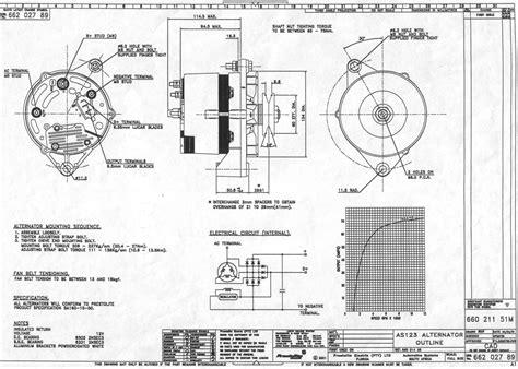 prestolite alternator wiring diagram marine alternator