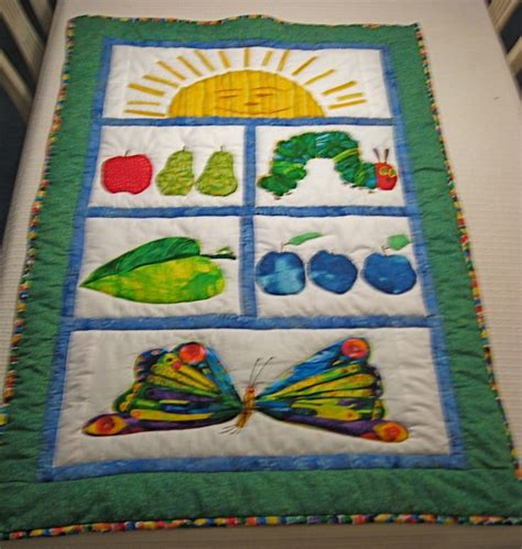 Hungry Caterpillar Quilt Kit by 93 Best Images About Hungry Caterpillar On Programs Quilt Patterns And Quilt Kits