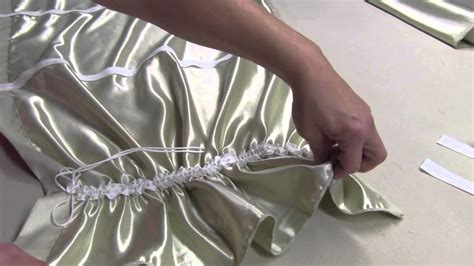 how to make austrian curtains how to make an austrian valance youtube