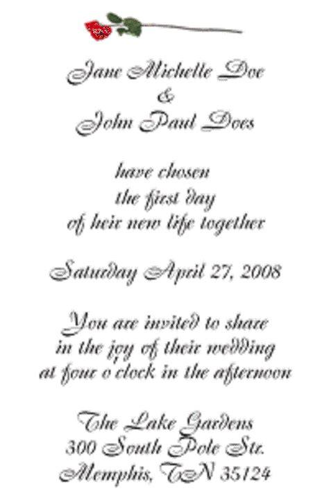 wedding invite poems wedding invitation wording sles wedding inspiration