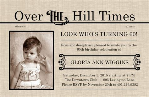 sle invitation for 60th birthday 38 best images about 60th save the date ideas on