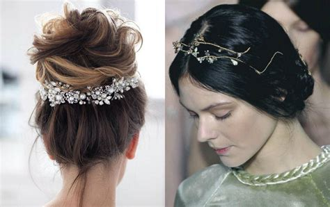 Wedding Hairstyles With Jewels by 10 Enchanting Wedding Hairstyles 2018 Hairdrome