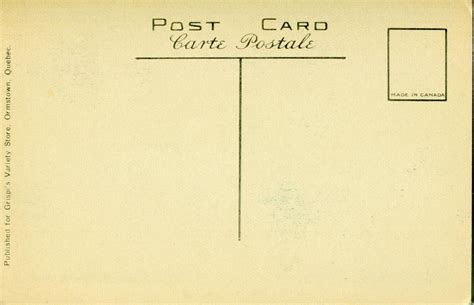 back of postcard template photoshop vintage postal charm mehker