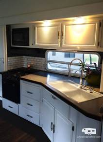 Single Wide Mobile Home Kitchen Remodel Ideas Rv Renovation And Life Update Wheeled And Free