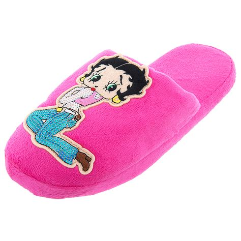 betty boop house shoes betty boop pink sequins slippers for women