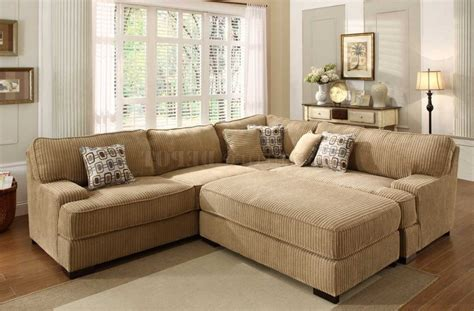 Sectional Sofa With Large Ottoman Large Sectional Sofa With Ottoman Sectional Sofa With Oversized Ottoman Hereo Sofa