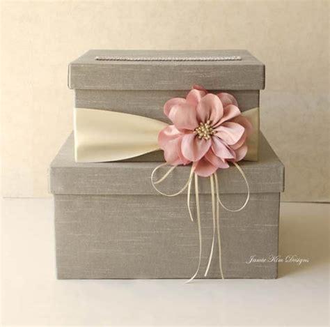 how to make a bridal gift card box wedding card box wedding money box gift card box custom made