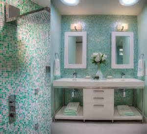 Blue And Green Bathroom Ideas badezimmerfliesen so w 228 hlen sie die passende art aus